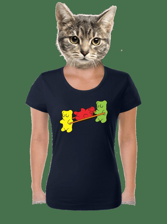 Gumkáči dámske tričko