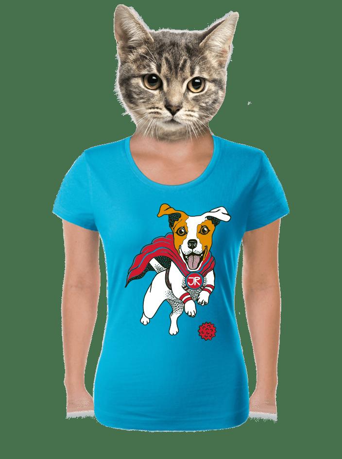Jack Russell dámske tričko