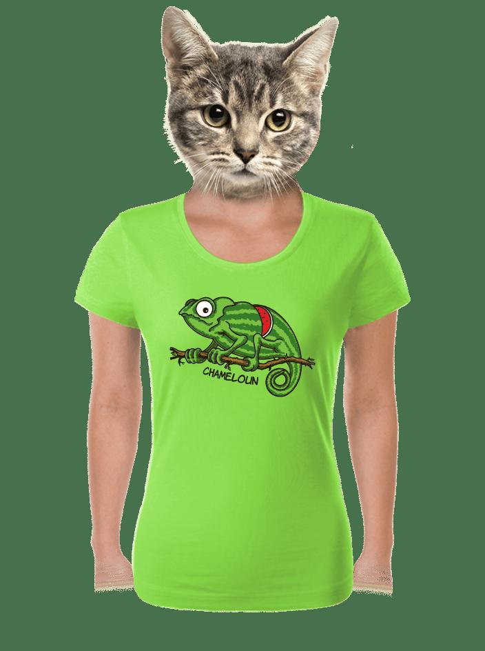 Chameloun zelené dámske tričko