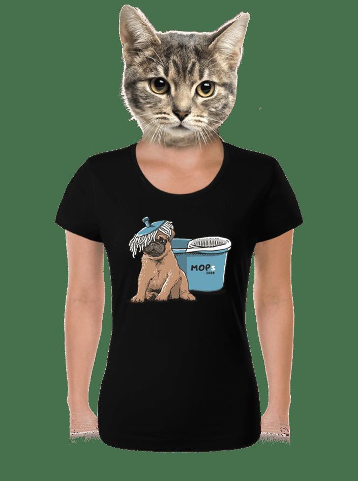 Mops dámske tričko