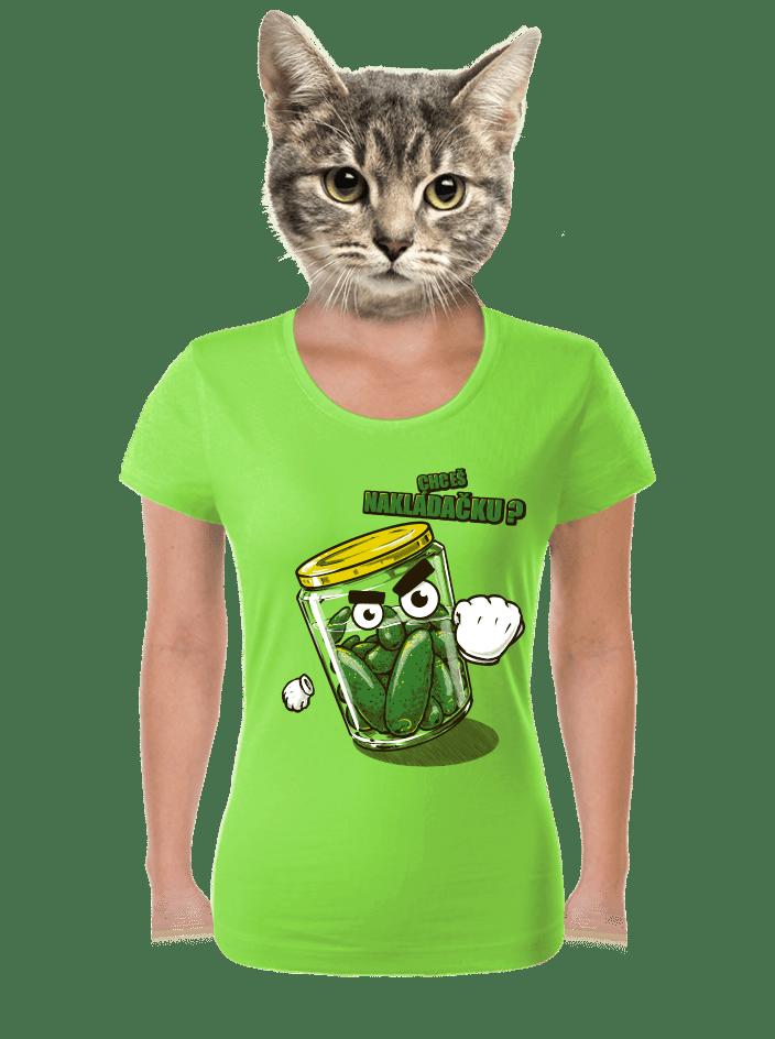 Nakládačka dámske tričko