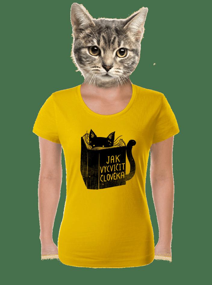 Povinná četba dámske tričko