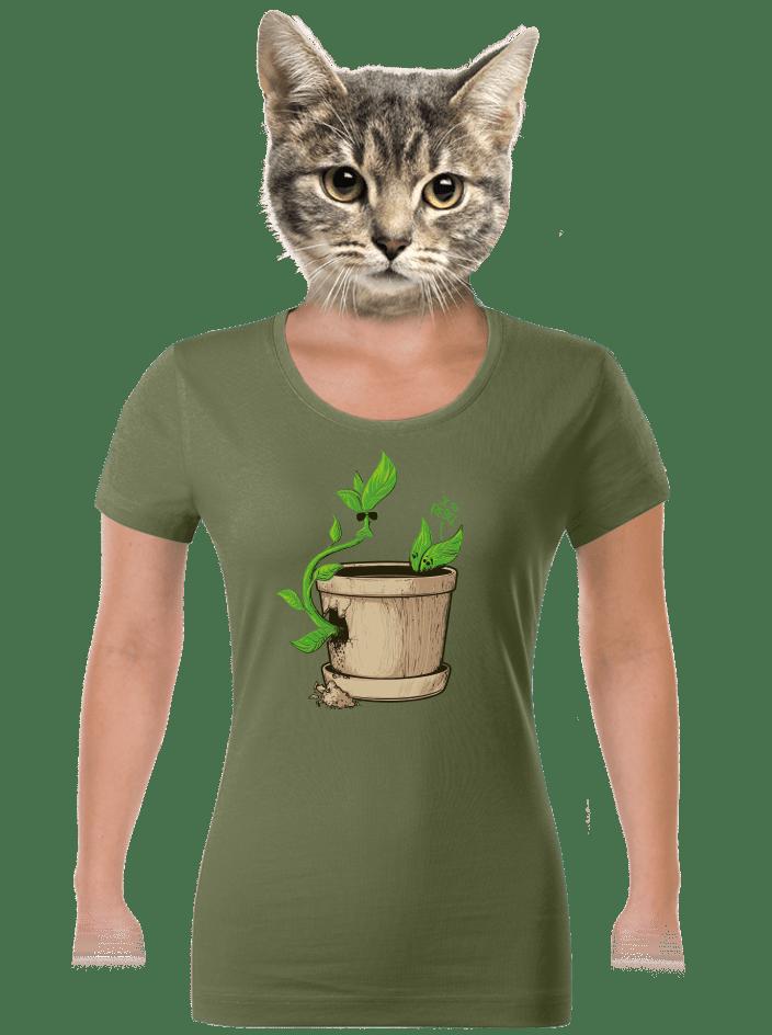Rebel dámske tričko