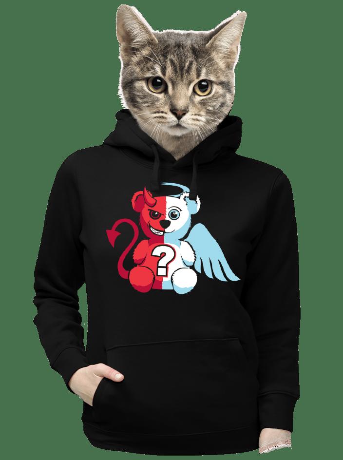Anjel vs. diabol dámska mikina