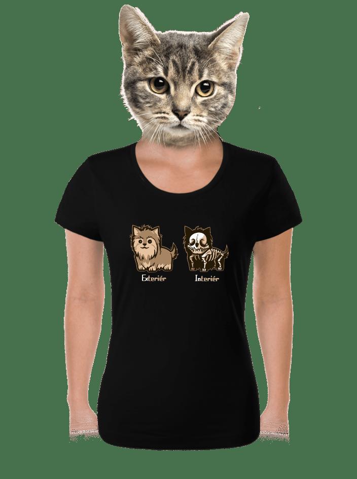 Teriér dámske tričko
