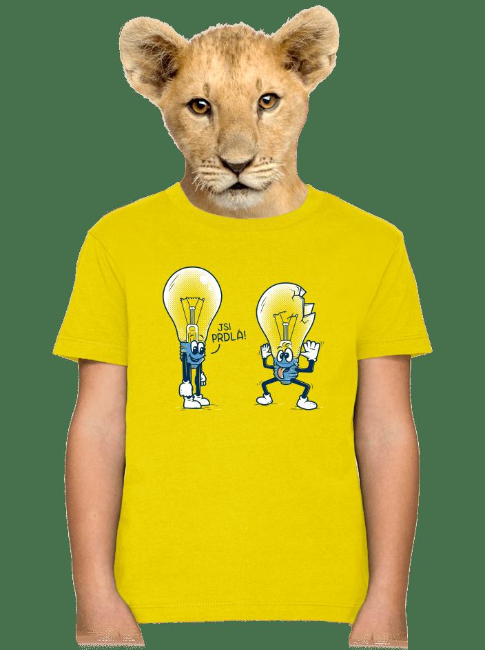 Prdlá detské tričko