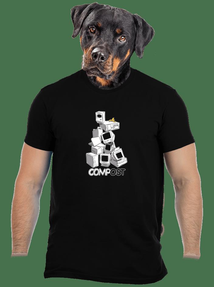 Compost pánske tričko