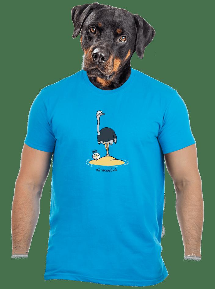 Pštrosečník pánske tričko