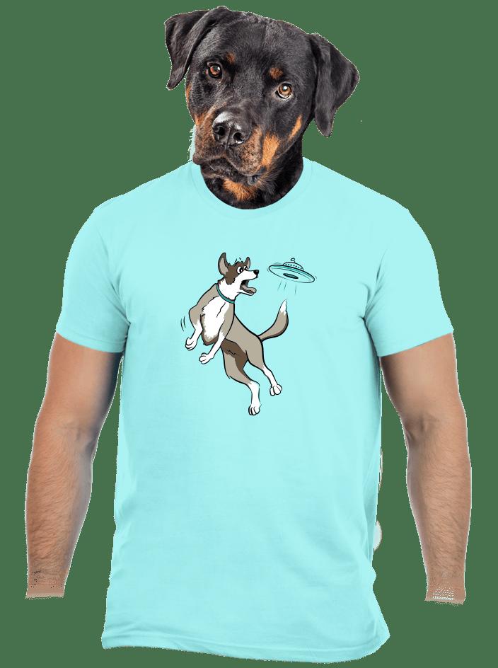 Lietajúci tanier pánske tričko