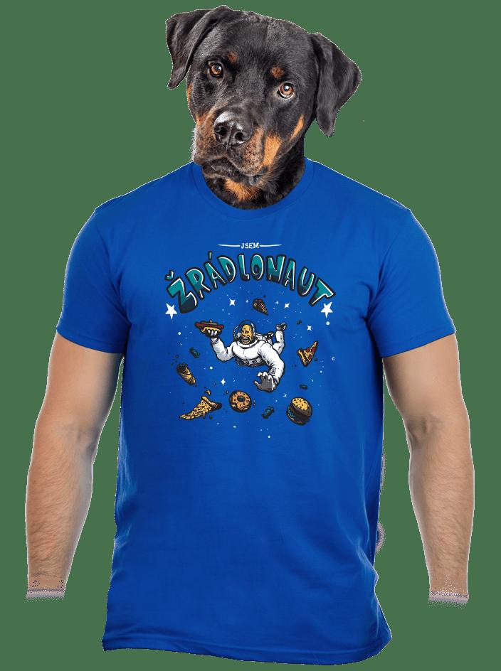 Žrádlonaut pánske tričko