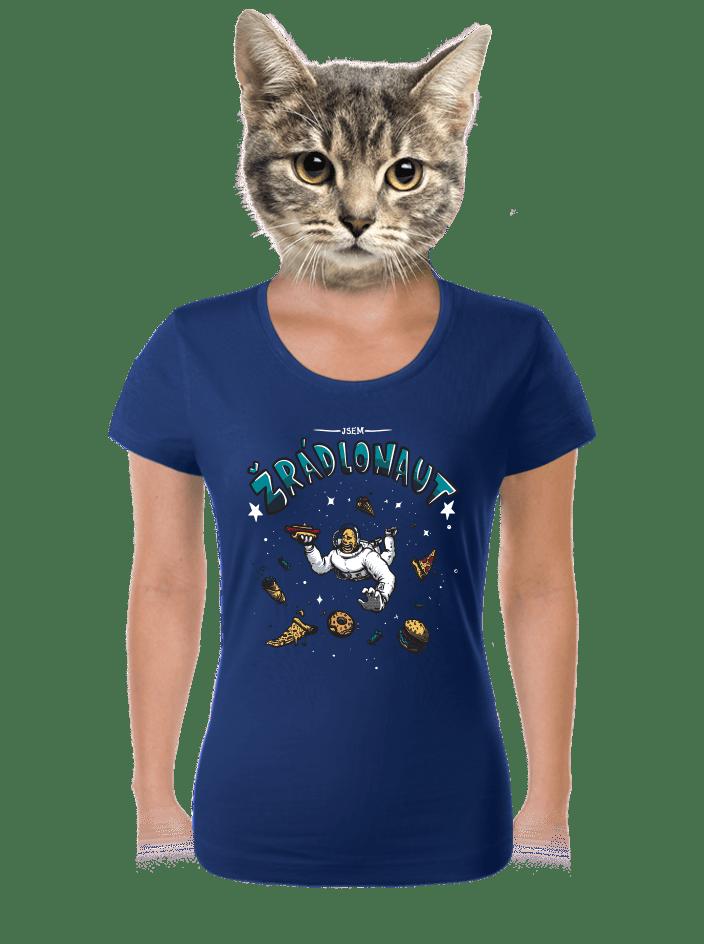 Žrádlonaut dámske tričko