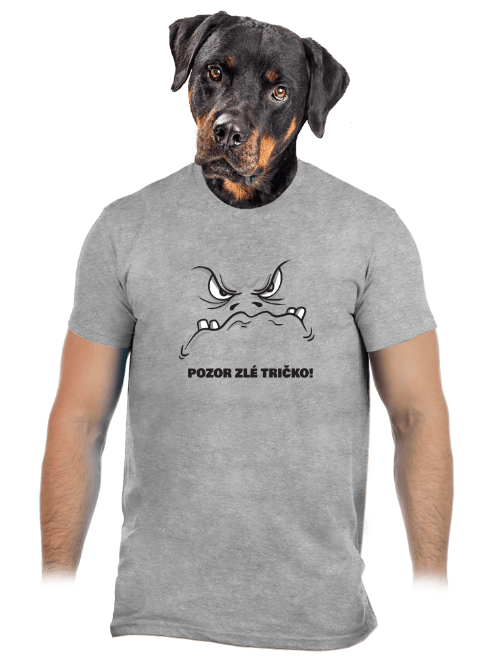 Zlé tričko pánske tričko