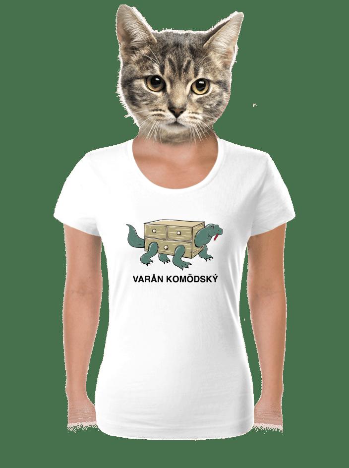 Varan Komodský dámske tričko