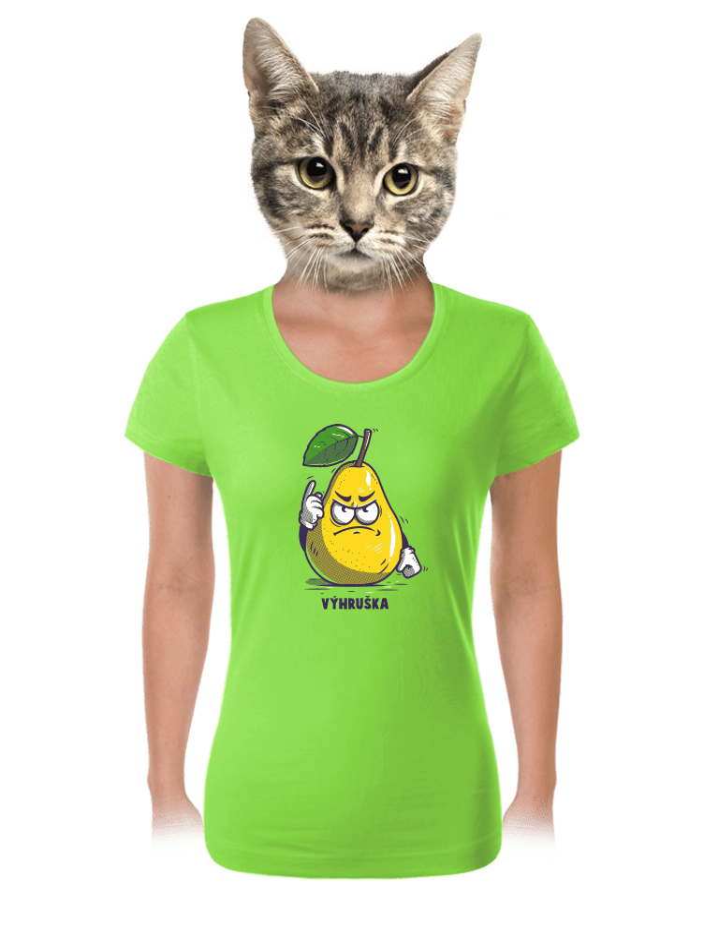 Výhruška dámske tričko