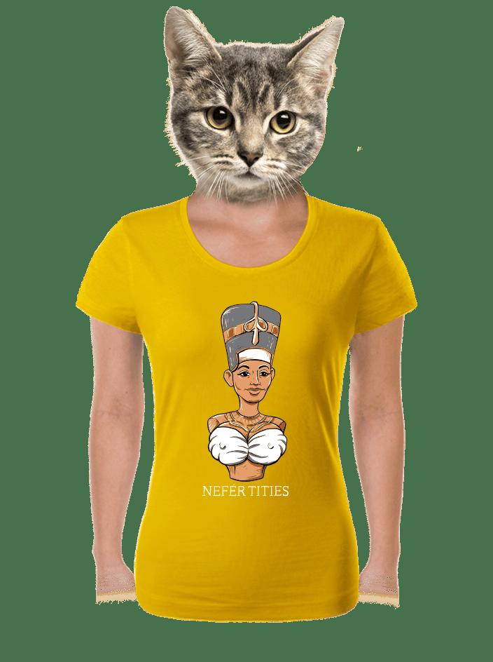 Nefertities dámske tričko