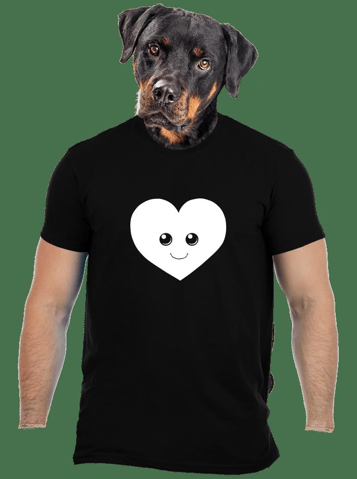 Srdiečko pánske tričko