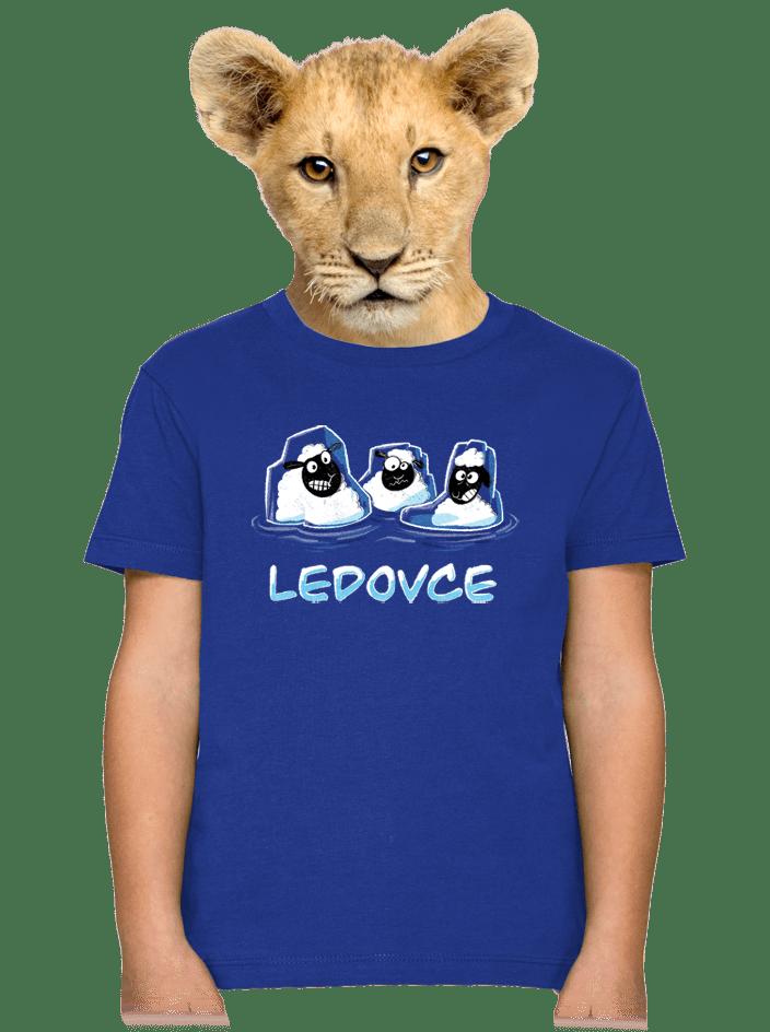 Ledovce detské tričko