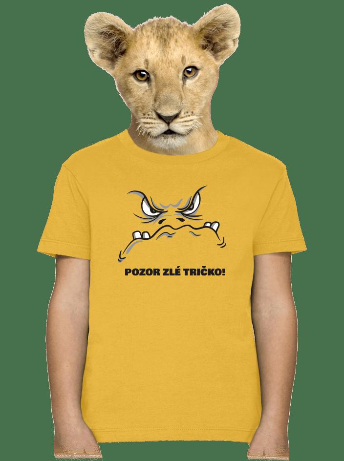 Zlé tričko detské tričko
