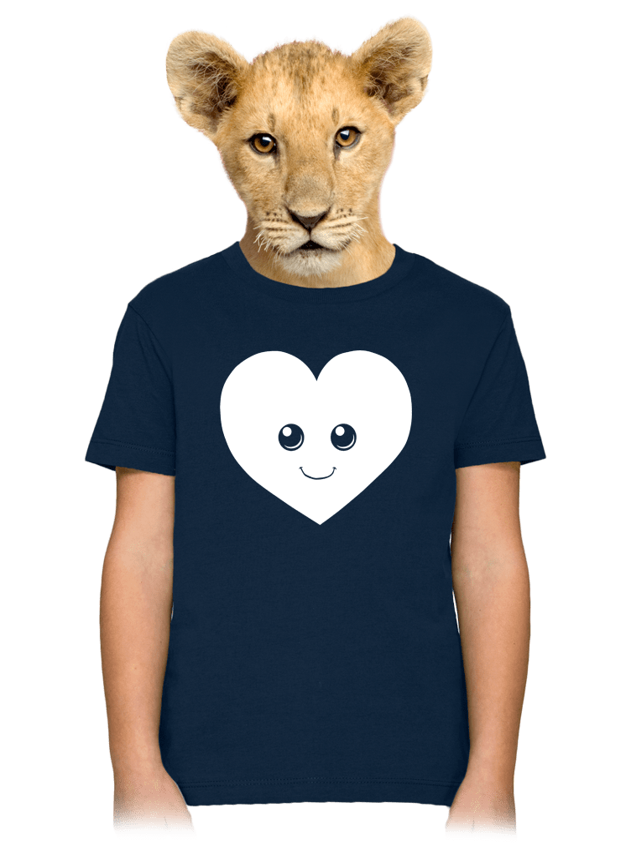 Srdiečko detské tričko