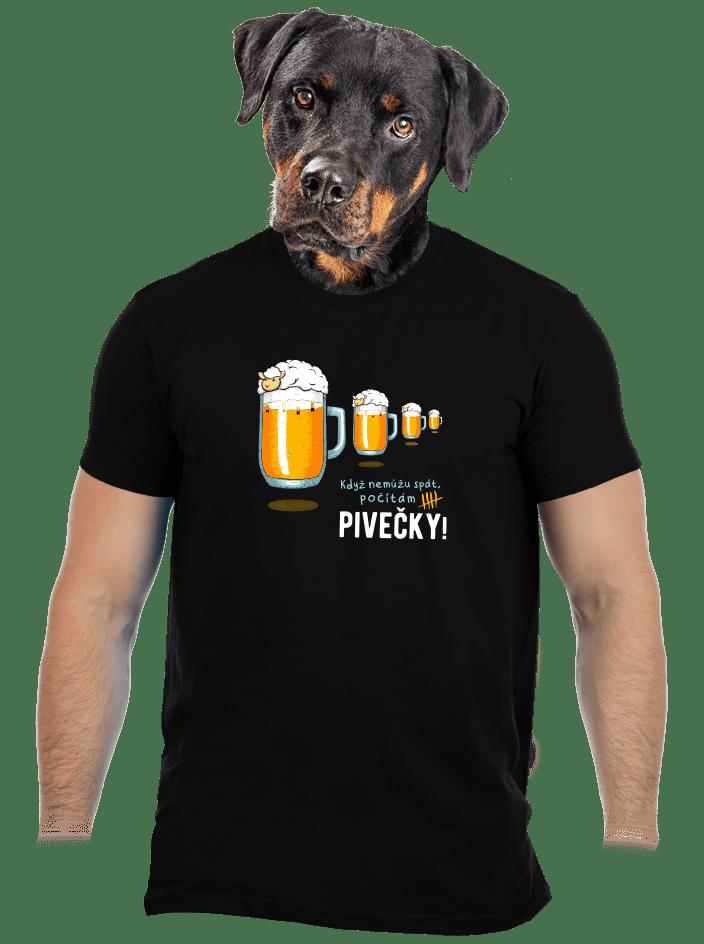 Pivečka pánske tričko
