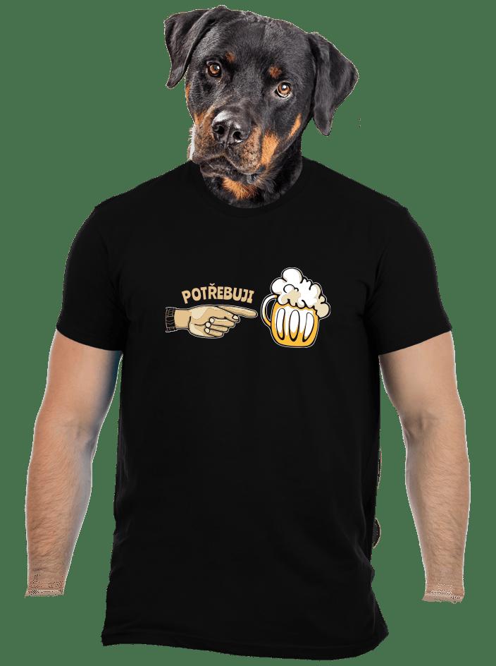 Rodinné potreby pánske tričko