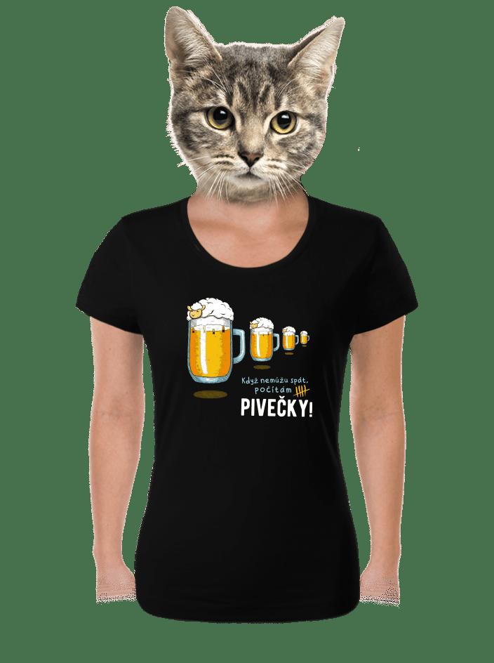 Pivečka dámske tričko