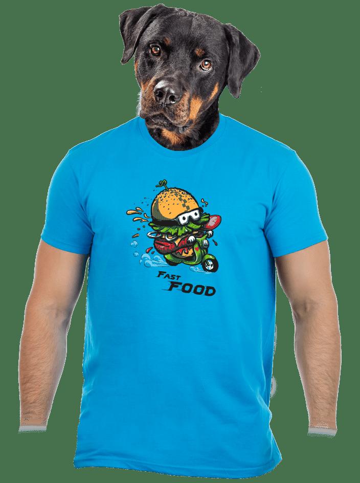 Fast food pánske tričko