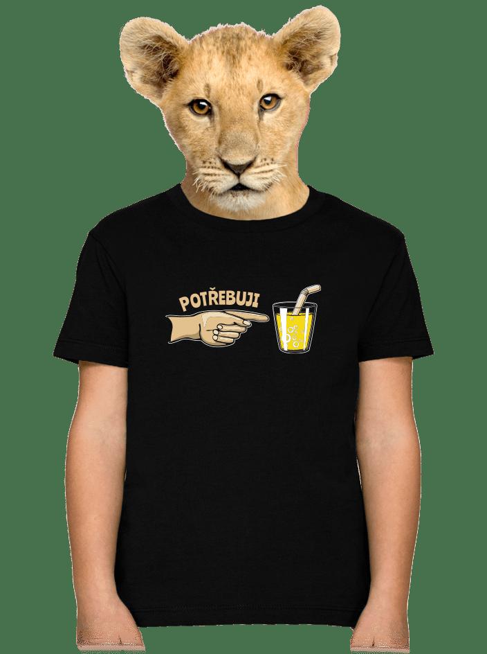 Rodinné potreby detské tričko