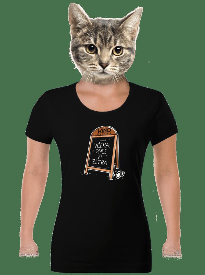 Včera, dnes a zítra dámske tričko