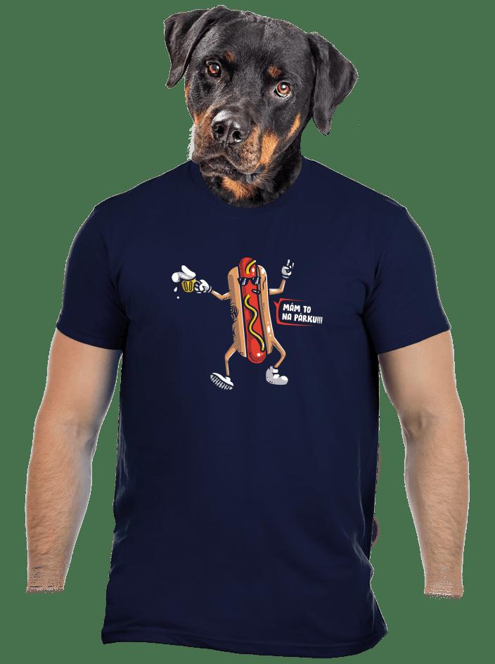 Na párku pánske tričko