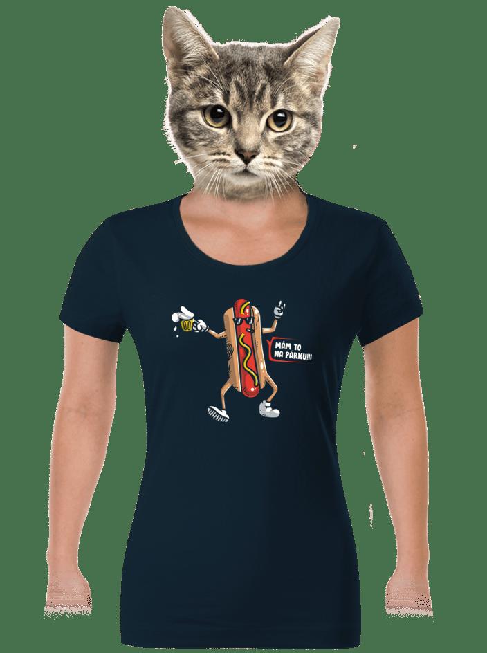 Na párku dámske tričko