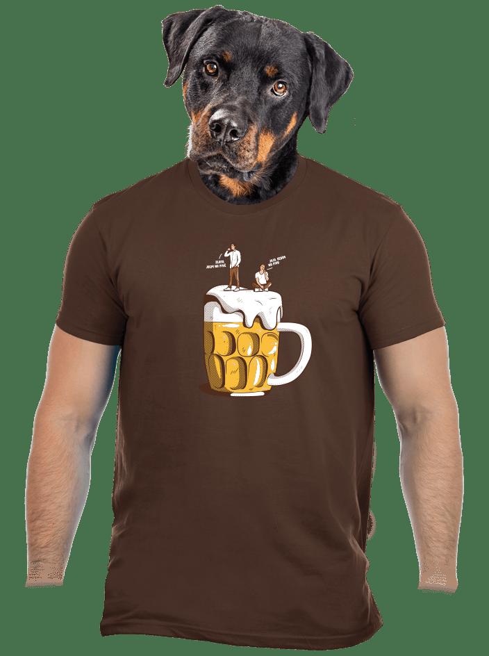 Na pivě pánske tričko