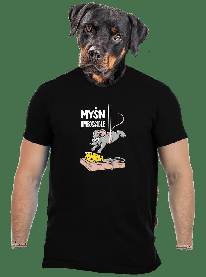Myšn Impossible pánske tričko