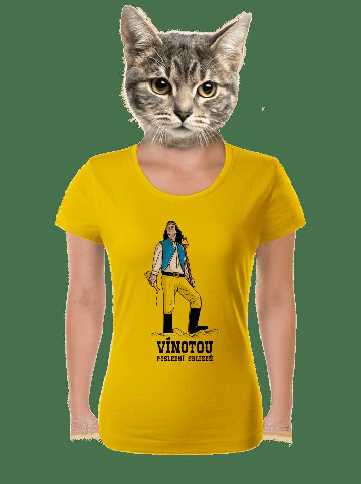 Vínotou dámske tričko