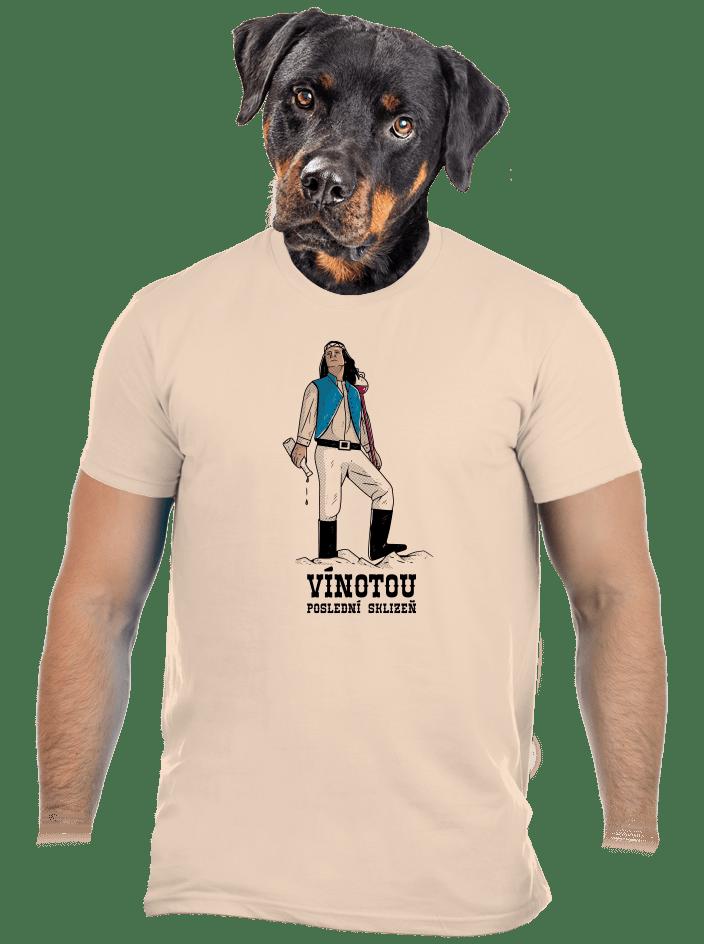 Vínotou pánske tričko