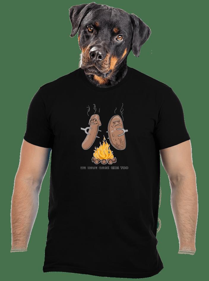 Dark side pánske tričko