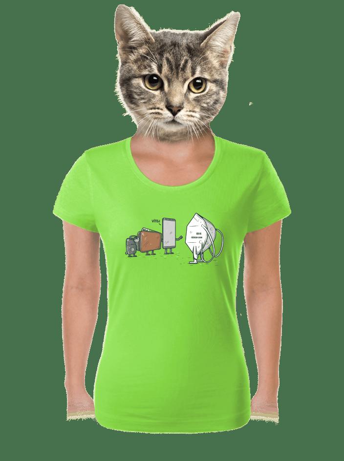 Nový člen dámske tričko