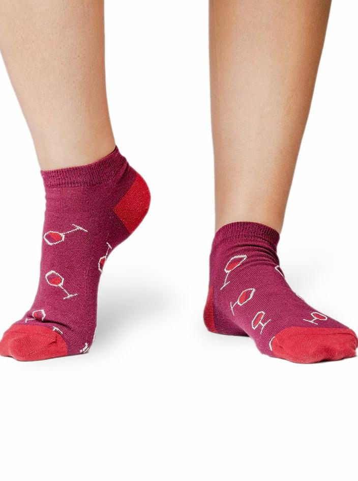 Přines víno kotníkové ponožky