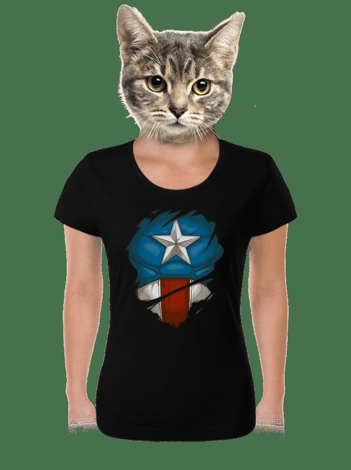 Captain Inside dámske tričko