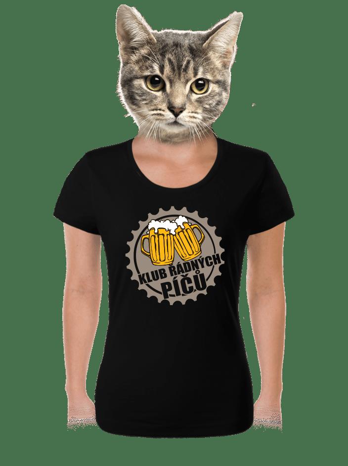 Klub řádných píčů dámske tričko