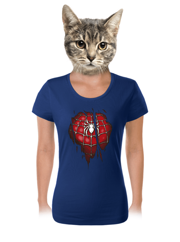 Spider inside dámske tričko