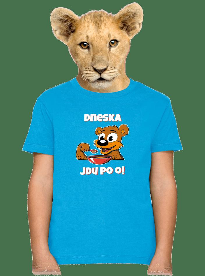 Dneska jdu po o detské tričko