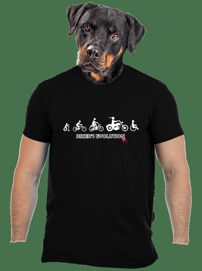 Bikers evolution pánske tričko
