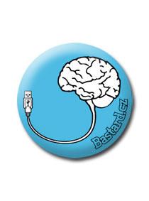 Placka USB mozog