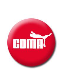 Placka Coma červená