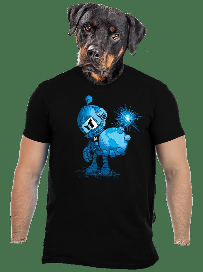 Časovaná bomba pánske tričko