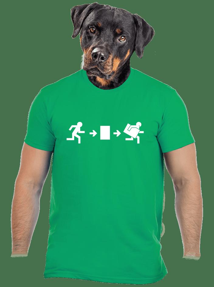 Útek po slovensky pánske tričko