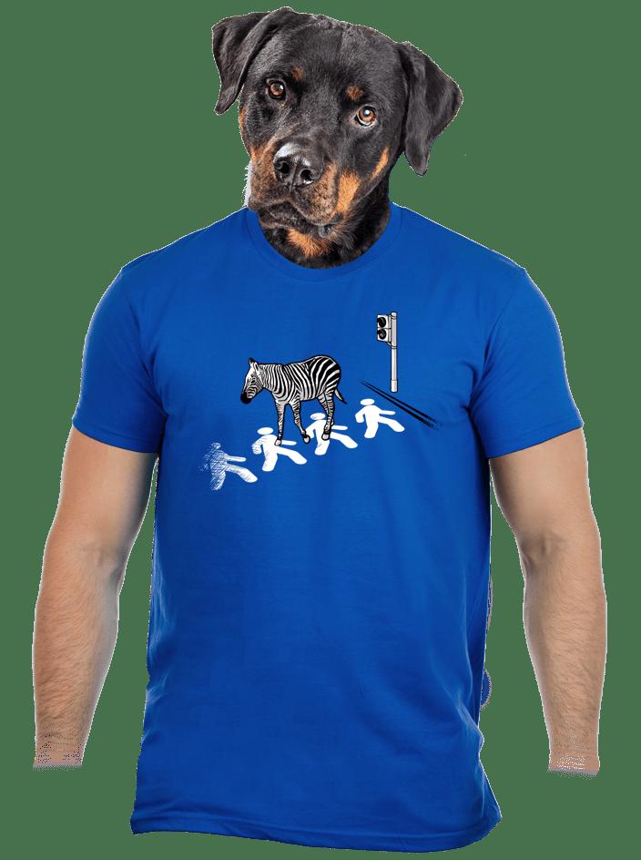 Zebra pánske tričko