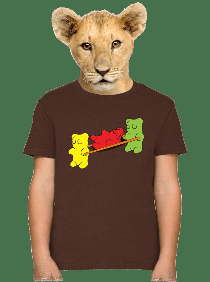 Gumkáči detské tričko
