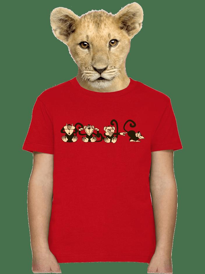 Opica detské tričko
